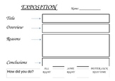 Exposition Template with Self Reflection