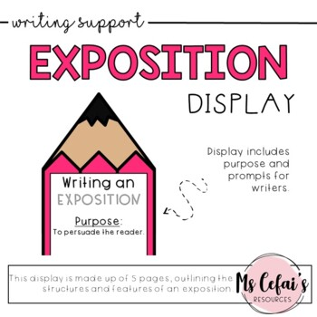 Exposition Text Type Display