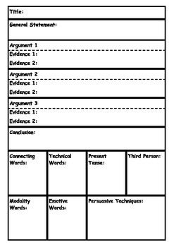 Exposition Writing Plans