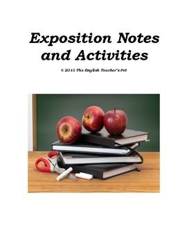 Exposition: Character and Setting Lecture Notes and Activities