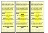 Exposition/Persuasive Text Bookmarks