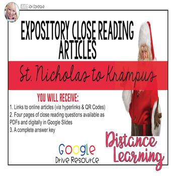 Expository Article - The Origins of Mr. Claus / Krampus {Google Digi Resource}
