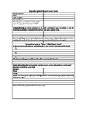 Expository Book Report Template
