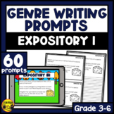 Expository Writing Prompts | Paper or Digital | Set 1