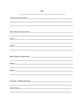 Expository Draft Templates