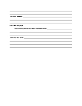 Expository Drafting Outline