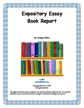 Expository Essay: Book Report