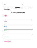 Expository Essay-Brushing Teeth-Step By Step