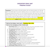 Expository Essay Bundle 2 Month Unit: Grades 6-12 (CCSS Aligned)