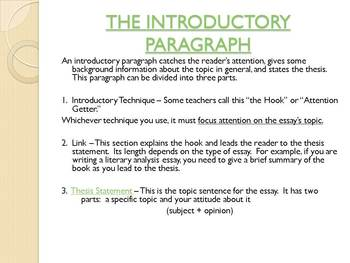 Expository Essay Complete Process Guiding PPT