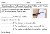 Expository Essay Examination and Creation Kit