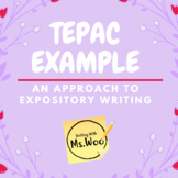 Expository Essay Example using TEPAC