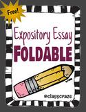Expository Essay Writing Foldable