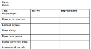 Expository Essay Format  Checklist For Collections Text  Tpt Expository Essay Format  Checklist For Collections Text Thesis Statement For Persuasive Essay also Romeo And Juliet English Essay  Examples Of Thesis Statements For English Essays