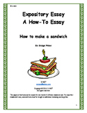 Expository Essay: How to Make a Sandwich