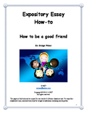 Expository Essay: How to be a good friend