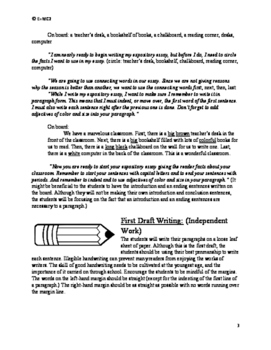 Expository Essay: Our Marvelous Classroom