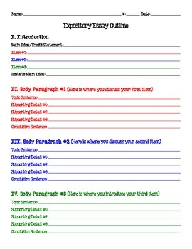 5 paragraph essay outline 7th grade 6 social studies / civics webquests grade 7-10 bundle $1000 $900  5 paragraph essay presentation & essay outline by  presto plans 5 paragraph essay: teach essay structure with this 12 slide powerpoint presentation goes through the most important elements of structuring the 5 paragraph essay the powerpoint uses a metaphor comparing.