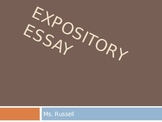 Expository Essay PowerPoint for ELA Writing