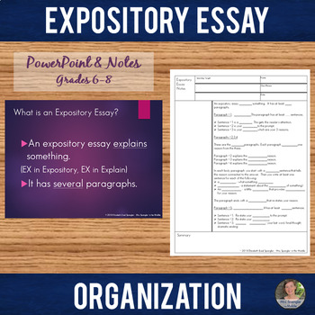 expository essay need to be organized Write expository text that is logically organized  resource id: e8wrm1l5  write expository text that is logically organized  resource id: e8wrm1l5  the next step is to determine the best order for the details in your expository essay you need to put the supporting details into a logical order in your paragraphs or into the order that.