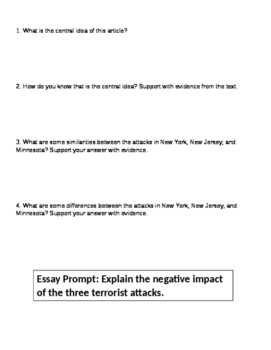 Expository Essay Process Using Current Events