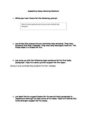 Expository Essay Revising Stations