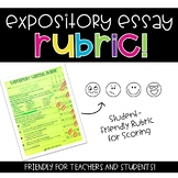 Expository Essay Rubric