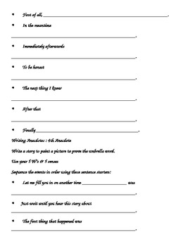 Expository Essay Template