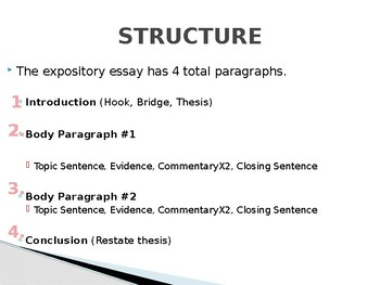 staareoc expository essay thesis statement workshop  tpt staareoc expository essay thesis statement workshop