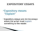 STAAR/EOC Expository Essay- Thesis Statement Workshop