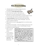 Mini-Lesson #2 - Freewriting