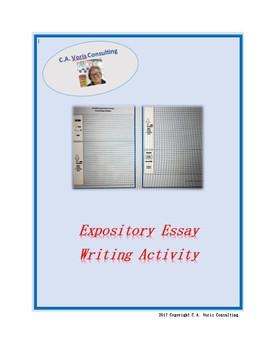 Expository Essay Writing Activity