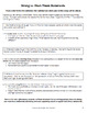Expository Essay Writing: No Prep Elaboration Practice