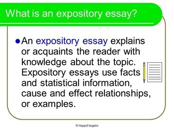 Expository Essay Writing PowerPoint and Graphic Organizer