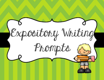 Expository Essay Writing Prompt Task Cards