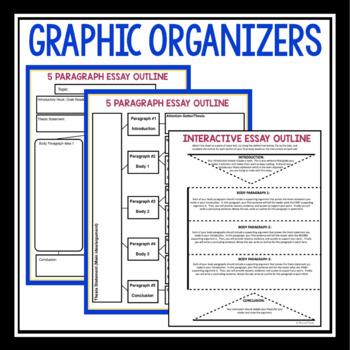 ESSAY WRITING HANDOUTS & GRAPHIC ORGANIZERS