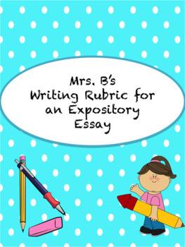 Expository Essay Writing Rubric