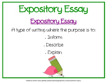 Expository writing essay