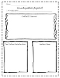 Expository Explorer: A Note Sheet for Expository Texts