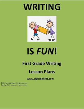 Expository First Grade Lesson Plan 6th Month