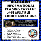 Expository/Information Text - Test Prep - Passage and Questions