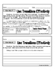 Expository/Informational Writing Exit Slips