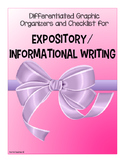 Expository Informational Writing Set