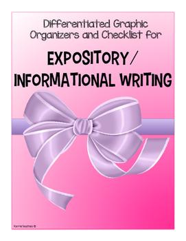Expository Informational Writing Set