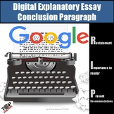 Expository Informative Writing Conclusion Paragraphs Google Digital