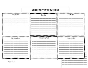 Expository Introduction template