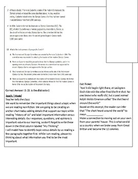 Expository Lesson-Topic versus Detail-History of Us