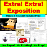 Exposition:  Newspaper Writing
