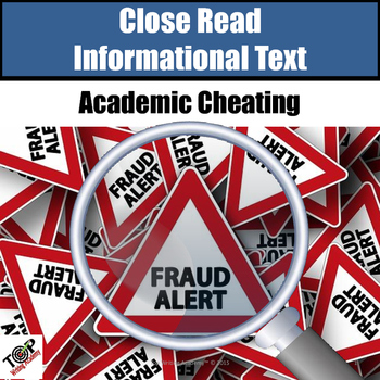 """Non-Fiction Close Reading Lessons """"Cheating"""""""
