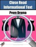 "Non-Fiction Close Reading Lessons ""Prom Drama"""